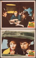 "Movie Posters:Film Noir, The Asphalt Jungle (MGM, 1950). Fine/Very Fine. Lobby Cards (2) (11"" X 14""). Film Noir.. ... (Total: 2 Items)"