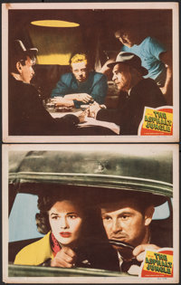 "The Asphalt Jungle (MGM, 1950). Fine/Very Fine. Lobby Cards (2) (11"" X 14""). Film Noir. ... (Total: 2 Items)"