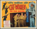 "Movie Posters:Science Fiction, Cat-Women of the Moon (Astor Pictures, 1954). Fine+ on Paper. Lobby Card (11"" X 14""). Science Fiction.. ..."