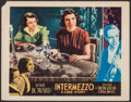 "Movie Posters:Romance, Intermezzo (United Artists, 1939). Fine/Very Fine. Other Company Lobby Card (11"" X 14""). Romance.. ..."