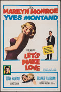 """Movie Posters:Comedy, Let's Make Love (20th Century Fox, 1960). Folded, Fine. One Sheet (27"""" X 41""""). Comedy.. ..."""