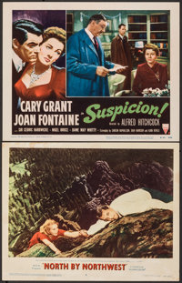"North by Northwest & Other Lot (MGM, 1959). Overall: Very Fine-. Lobby Cards (2) (11"" X 14""). Hitchcock..."