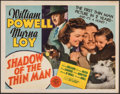 """Movie Posters:Mystery, Shadow of the Thin Man (MGM, 1941). Very Fine-. Title Lobby Card (11"""" X 14""""). Mystery.. ..."""