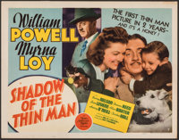 "Shadow of the Thin Man (MGM, 1941). Very Fine-. Title Lobby Card (11"" X 14""). Mystery"