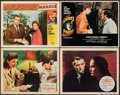 """Movie Posters:Hitchcock, Spellbound & Other Lot (United Artists, 1945). Fine/Very Fine. Lobby Cards (4) (11"""" X 14""""). Hitchcock.. ... (Total: 4 Items)"""