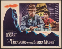 "The Treasure of the Sierra Madre (Warner Bros., 1948). Fine/Very Fine. Lobby Card (11"" X 14""). Film Noir"