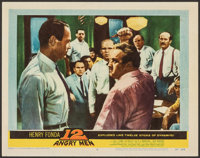 "12 Angry Men (United Artists, 1957). Very Fine. Lobby Card (11"" X 14""). Drama. From the Collection of Frank Bu..."