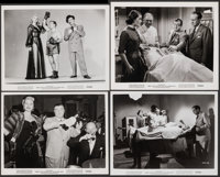 "Abbott and Costello Meet the Invisible Man (Universal International, 1951). Fine/Very Fine. Photos (3) (Approx. 8""..."