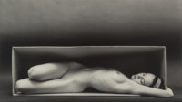 Ruth Bernhard (American, 1905-2006) In the Box-Horizontal San Francisco, 1962 Gelatin silver, printe