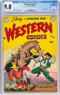 Golden Age (1938-1955):Western, Western Comics #8 Double Cover (DC, 1949) CGC NM/MT 9.8 Off-white to white pages....