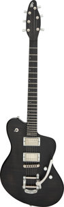 Musical Instruments:Electric Guitars, 2011 Henman S2 Black Solid Body Electric Guitar, Serial #S2-L-009.. ...