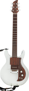Musical Instruments:Electric Guitars, 1971 Ampeg Dan Armstrong Clear Solid Body Electric Guitar, Serial #A1548D.. ...
