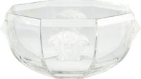 "Versace Medusa Lumiere Crystal Bowl Condition: 1 7"" Diameter x 3.5"" Height"