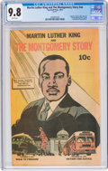 Modern Age (1980-Present):Miscellaneous, Martin Luther King and the Montgomery Story #nn 2014 Reprint (Top Shelf Productions, 2014) CGC NM/MT 9.8 White pages....