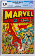 Golden Age (1938-1955):Superhero, Marvel Mystery Comics #25 (Timely, 1941) CGC GD/VG 3.0 Cream to off-white pages....