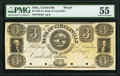 Circleville, OH- Bank of Circleville (The First) $3 18__ as G6 Wolka 0668-05 Proof PMG About Uncirculated 55