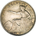 Switzerland:Helvetic Confederation, Switzerland: Confederation silver 1/2 Franc 1851-A,...