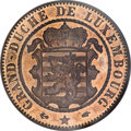 Luxembourg, Luxembourg: William III Proof 10 Centimes 1855A,...