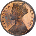 Hong Kong, Hong Kong: Victoria Proof Cent 1863 Dot,...