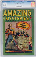 Golden Age (1938-1955):Horror, Amazing Mysteries #33 (Atlas, 1949) CGC VG/FN 5.0 Off-white to white pages....