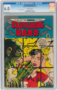 Clutching Hand #1 (ACG, 1954) CGC FN 6.0 Off-white pages
