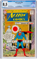 Silver Age (1956-1969):Superhero, Action Comics #300 (DC, 1963) CGC VF+ 8.5 Off-white pages....