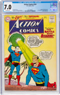 Silver Age (1956-1969):Superhero, Action Comics #254 (DC, 1959) CGC FN/VF 7.0 Off-white page...