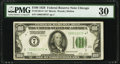 Fr. 2150-G* $100 1928 Federal Reserve Star Note. PMG Very Fine 30