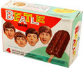 Music Memorabilia:Memorabilia, The Beatles Ice Cream Bar Vintage Shipping Box (NEMS 1965). ...