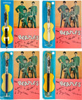 Music Memorabilia:Memorabilia, The Beatles Official Ballpoint Pens (Set of Four) by Press-Initial Corp (NEMS, 1964). ...