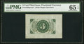 Fractional Currency:Third Issue, Fr. 1226SP 3¢ Third Issue Wide Margin Back PMG Gem Uncirculated 65 EPQ.. ...
