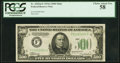 Fr. 2202-F $500 1934A Federal Reserve Note. PCGS Choice About New 58