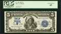 Large Size:Silver Certificates, Fr. 281 $5 1899 Silver Certificate PCGS Extremely Fine 45.. ...