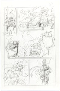 John Buscema - Doctor Doom Preliminary Story Page 10 Original Art (Marvel, undated)