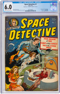 Golden Age (1938-1955):Science Fiction, Space Detective #1 Double Cover (Avon, 1951) CGC FN 6.0 Cream to off-white pages....