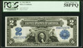 Large Size:Silver Certificates, Fr. 249 $2 1899 Silver Certificate PCGS Choice About New 58PPQ.. ...