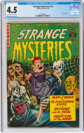 Golden Age (1938-1955):Horror, Strange Mysteries #10 (Superior Comics, 1953) CGC VG+ 4.5 Cream to off-white pages....