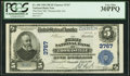 Thomasville, GA - $5 1902 Plain Back Fr. 600 The First National Bank Ch. # 3767 PCGS Very Fine 30PPQ.</