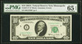 Small Size:Federal Reserve Notes, Fr. 2017-I* $10 1963A Federal Reserve Note. PMG Gem Uncirculated 65 EPQ.. ...