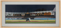 Baseball Collectibles:Others, 1977 World Series Reggie Jackson Framed Print....