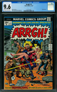 Arrgh! #1 (Marvel, 1974) CGC NM+ 9.6 OFF-WHITE TO WHITE pages