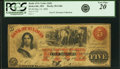 Kirksville, MO - Bank of St. Louis (2nd), at their Bank in Kirksville $5 May 12, 1860 MO-50 G40c SENC PCGS Apparent Very...