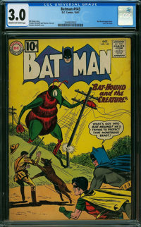 Batman #143 (DC, 1961) CGC GD/VG 3.0 CREAM TO OFF-WHITE pages