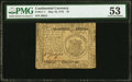 Continental Currency May 10, 1775 $1 PMG About Uncirculated 53