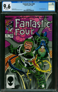 Fantastic Four #283 (Marvel, 1985) CGC NM+ 9.6 White pages