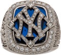 Baseball Collectibles:Others, 2009 New York Yankees World Series Championship Ring Presented to Front Office Employee....