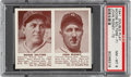 Baseball Cards:Singles (1940-1949), 1941 Double Play Moose Solters-John Rigney #71/72 PSA NM-MT 8 - Pop Three, None Higher. ...