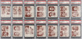Baseball Cards:Sets, 1941 Double Play PSA-Graded Partial Set (41/75)....