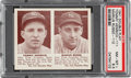 Baseball Cards:Singles (1940-1949), 1941 Double Play Tommy Henrich-Marius Russo #111/112 PSA NM-MT+ 8.5 - Pop Three, One Higher. ...