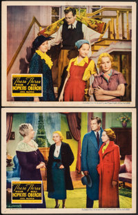 """These Three (United Artists, 1936). Fine/Very Fine. Lobby Cards (2) (11"""" X 14""""). Drama. ... (Total: 2 Items)"""